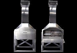 Stainless steel Freestanding braai